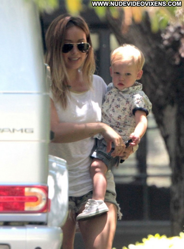 Hilary Duff Beverly Hills Shorts Babe Beautiful Posing Hot Paparazzi